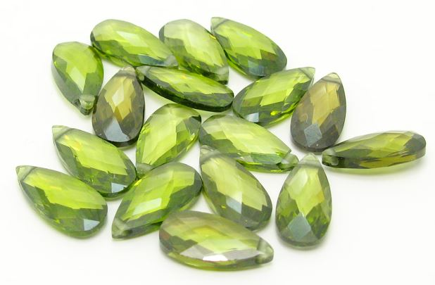 synthetic CZ stones for jewelry