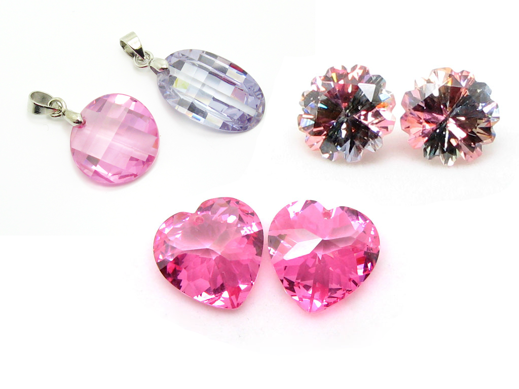 synthetic cz for jewelry