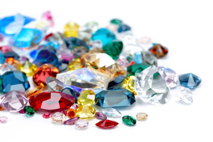 Colored CZ Gems