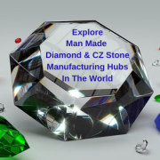 Man Made Diamond & CZ Stone