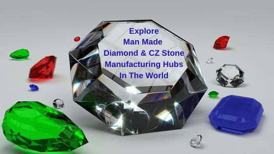 Man Made Diamond & CZ Stone
