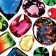 Colorful Cubic Zirconia Gems
